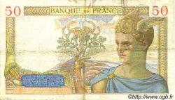 50 Francs CÉRÈS FRANCE  1936 F.17.31 TTB+