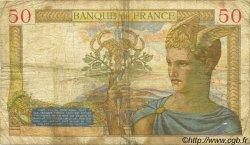 50 Francs CÉRÈS modifié FRANCE  1937 F.18.03 pr.B