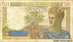 50 Francs CÉRÈS modifié FRANCE  1939 F.18.29 pr.TB