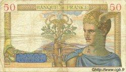 50 Francs CÉRÈS modifié FRANCE  1940 F.18.38 TB