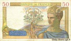 50 Francs CÉRÈS modifié FRANCE  1940 F.18.39 pr.TTB