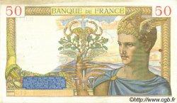 50 Francs CÉRÈS modifié FRANCE  1940 F.18.40 TTB+