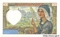 50 Francs JACQUES CŒUR FRANCE  1940 F.19.03 SUP à SPL