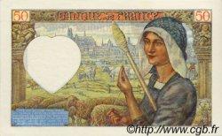 50 Francs JACQUES CŒUR FRANCE  1941 F.19.05 SPL