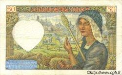 50 Francs JACQUES CŒUR FRANCE  1941 F.19.11 TTB+
