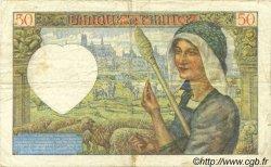 50 Francs JACQUES CŒUR FRANCE  1941 F.19.12 pr.TTB