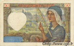 50 Francs JACQUES CŒUR FRANCE  1941 F.19.14 TTB+