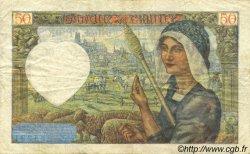 50 Francs JACQUES CŒUR FRANCE  1942 F.19.18 TB+
