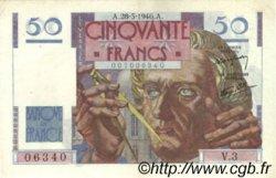 50 Francs LE VERRIER FRANCE  1946 F.20.02 SUP