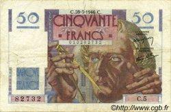 50 Francs LE VERRIER FRANCE  1946 F.20.02 pr.TTB