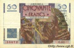 50 Francs LE VERRIER FRANCE  1947 F.20.07 SUP