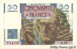 50 Francs LE VERRIER FRANCE  1947 F.20.08 SPL
