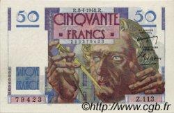 50 Francs LE VERRIER FRANCE  1948 F.20.10 SPL+