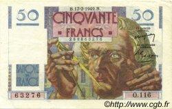 50 Francs LE VERRIER FRANCE  1949 F.20.11 SUP