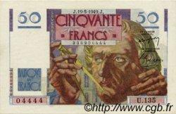 50 Francs LE VERRIER FRANCE  1949 F.20.12 SUP+