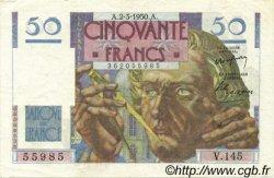 50 Francs LE VERRIER FRANCE  1950 F.20.14 SUP