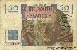 50 Francs LE VERRIER FRANCE  1950 F.20.16 B