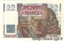 50 Francs LE VERRIER FRANCE  1951 F.20.18 SUP