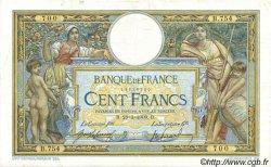 100 Francs LUC OLIVIER MERSON avec LOM FRANCE  1909 F.22.02 TB+