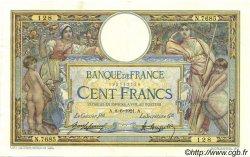 100 Francs LUC OLIVIER MERSON sans LOM FRANCE  1921 F.23.14 TTB à SUP