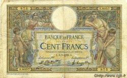 100 Francs LUC OLIVIER MERSON sans LOM FRANCE  1922 F.23.15 B