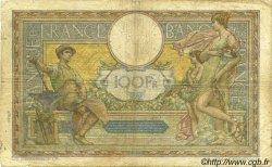 100 Francs LUC OLIVIER MERSON sans LOM FRANCE  1923 F.23.16 B+