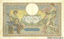 100 Francs LUC OLIVIER MERSON grands cartouches FRANCE  1923 F.24.01 pr.TTB