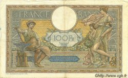 100 Francs LUC OLIVIER MERSON grands cartouches FRANCE  1925 F.24.03 TB