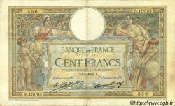 100 Francs LUC OLIVIER MERSON grands cartouches FRANCE  1926 F.24.05 TTB