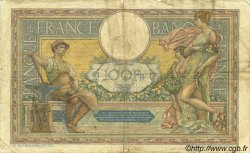 100 Francs LUC OLIVIER MERSON grands cartouches FRANCE  1927 F.24.06 B+