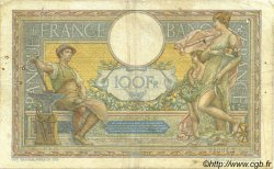 100 Francs LUC OLIVIER MERSON grands cartouches FRANCE  1927 F.24.06 TB