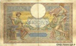 100 Francs LUC OLIVIER MERSON grands cartouches FRANCE  1928 F.24.07 pr.TTB