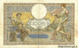 100 Francs LUC OLIVIER MERSON grands cartouches FRANCE  1928 F.24.07 TTB+