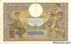 100 Francs LUC OLIVIER MERSON grands cartouches FRANCE  1928 F.24.07 TTB+