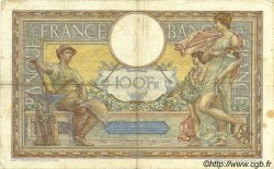 100 Francs LUC OLIVIER MERSON grands cartouches FRANCE  1928 F.24.07 TB