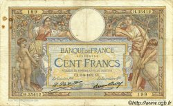 100 Francs LUC OLIVIER MERSON grands cartouches FRANCE  1932 F.24.11 pr.TB