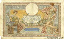 100 Francs LUC OLIVIER MERSON grands cartouches FRANCE  1933 F.24.12 B