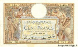 100 Francs LUC OLIVIER MERSON grands cartouches FRANCE  1934 F.24.13 TTB à SUP