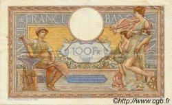 100 Francs LUC OLIVIER MERSON grands cartouches FRANCE  1934 F.24.13 TTB+