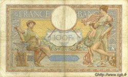 100 Francs LUC OLIVIER MERSON grands cartouches FRANCE  1935 F.24.14 B+