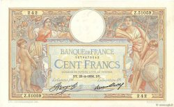 100 Francs LUC OLIVIER MERSON grands cartouches FRANCE  1936 F.24.15 TTB