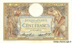 100 Francs LUC OLIVIER MERSON grands cartouches FRANCE  1937 F.24.16 TTB à SUP