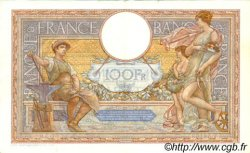 100 Francs LUC OLIVIER MERSON grands cartouches FRANCE  1937 F.24.16 pr.SUP