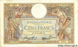 100 Francs LUC OLIVIER MERSON type modifié FRANCE  1937 F.25.03 pr.TTB