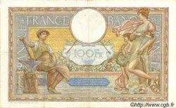 100 Francs LUC OLIVIER MERSON type modifié FRANCE  1937 F.25.03 TTB