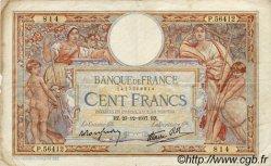 100 Francs LUC OLIVIER MERSON type modifié FRANCE  1937 F.25.06 TB+