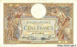 100 Francs LUC OLIVIER MERSON type modifié FRANCE  1938 F.25.08 TTB