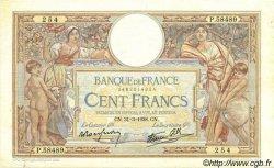 100 Francs LUC OLIVIER MERSON type modifié FRANCE  1938 F.25.14 TTB