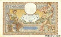 100 Francs LUC OLIVIER MERSON type modifié FRANCE  1938 F.25.14 TTB+