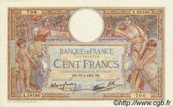100 Francs LUC OLIVIER MERSON type modifié FRANCE  1938 F.25.19